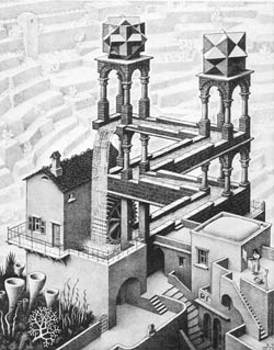 Escher: Waterfall